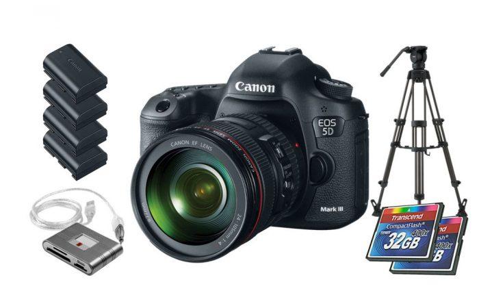 Cámara Canon EOS 5D Mark III alquiler – Cinemarket Films