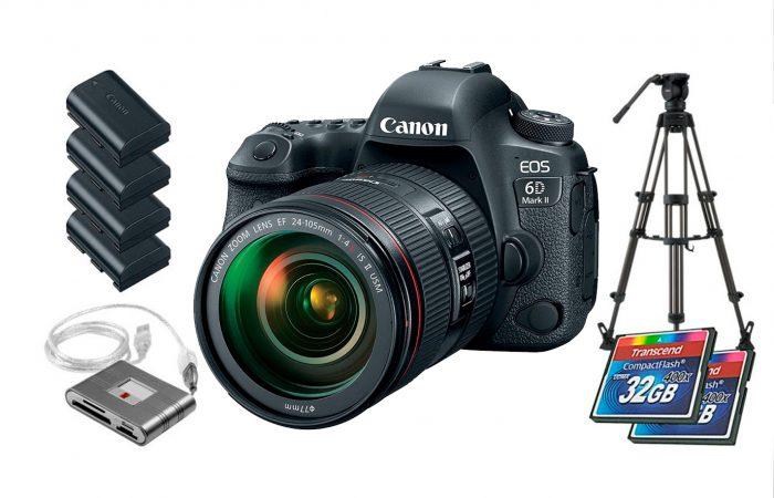 Cámara Canon EOS 6D Mark II alquiler