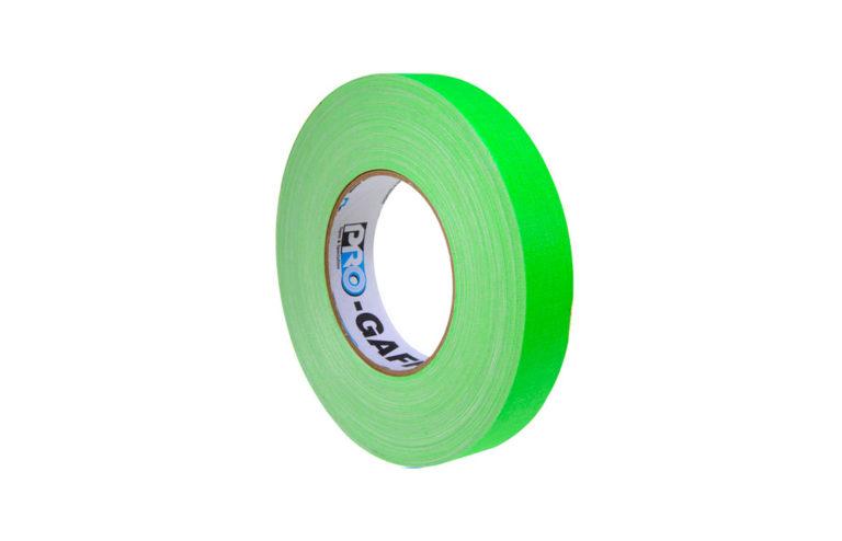 Cinta Gaffer Progaff Verde 1 pulgada 55 yardas
