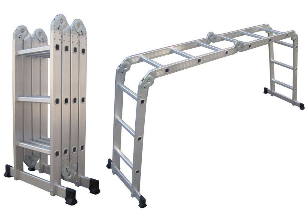 Alquiler de escalera multifuncional en cinemarket films - Alquiler de escaleras ...