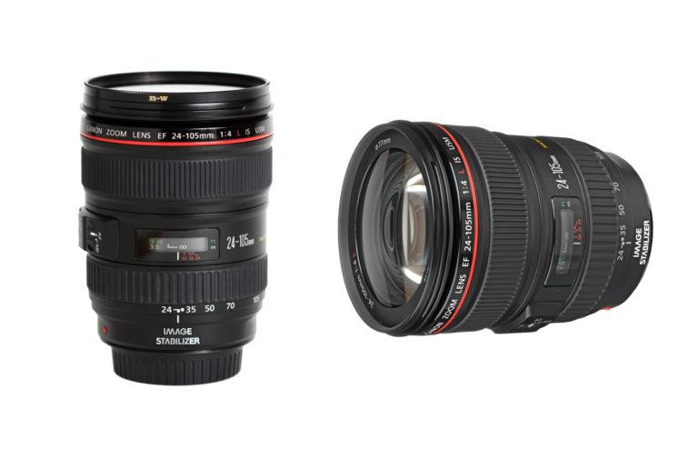 Lente Canon 24-105 f/4L Alquiler