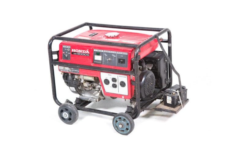 Generador 5 KW silencioso Alquiler