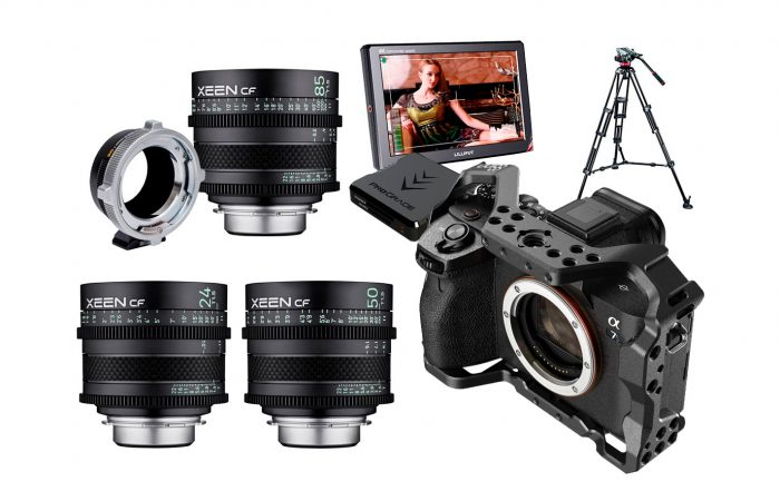 COMBO C07 – Sony A7sIII + Óptica XEEN CF alquiler