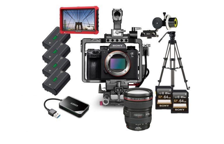 Cámara Sony A7III + lente Canon 24-105MM alquiler