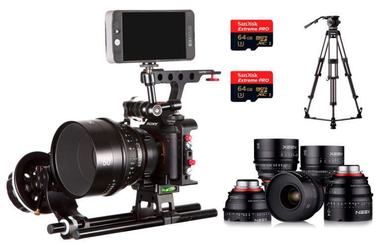 COMBO 05 – SONY A7R2 + LENTES PL XEEN + MONITOR ALQUILER