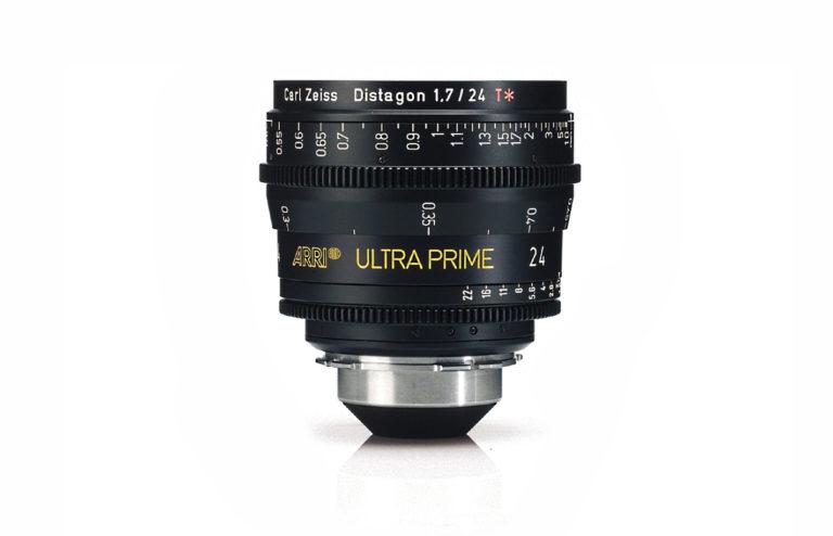 Lente Arri Ultra Prime 24mm f/1,9 PL Alquiler