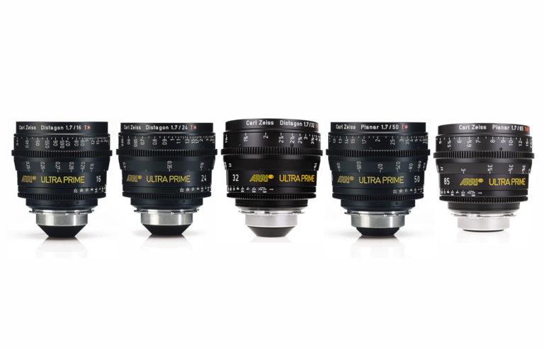 1 Optica Arri Ultra Prime – Kit 5 lentes Alquiler