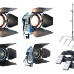 Combo #19 – 4 Fresnel + Extensiones + Tripodes alquiler