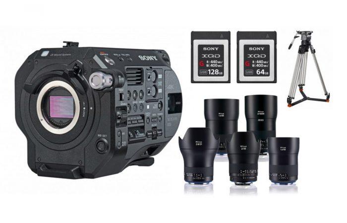 Combo 12 – Sony FS7 Mk2 + Óptica Carl Zeiss Milvus Alquiler