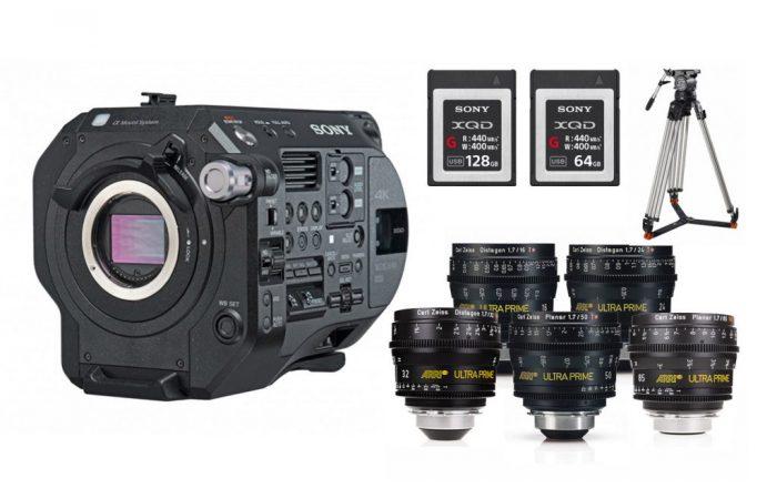 Sony FS7 Mk2 + Óptica Ultra Prime Alquiler