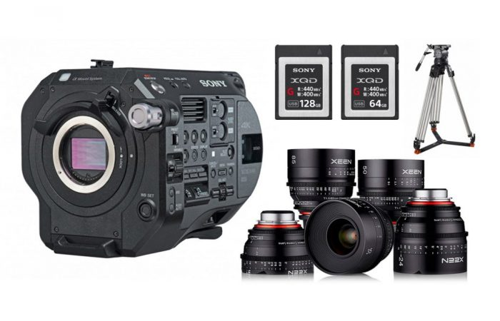 Sony FS7 Mk2 + Óptica PL Xeen