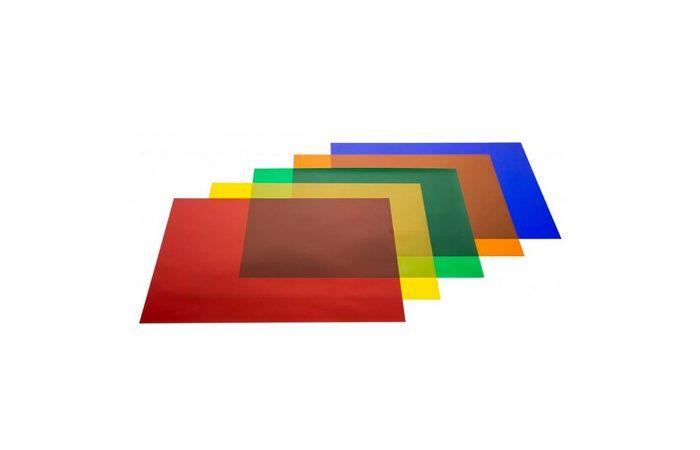 Filtro de color por pliego