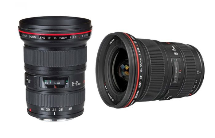 Lente Canon 16-35 f/2,8 EF alquiler