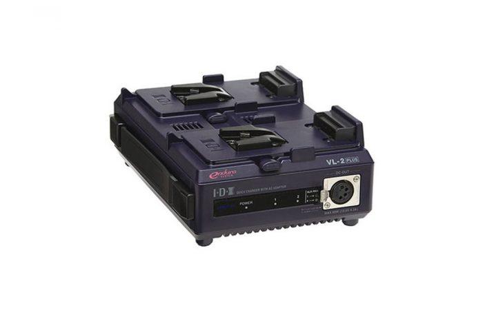Cargador Dual V-Mount IDX System VL-2 alquiler