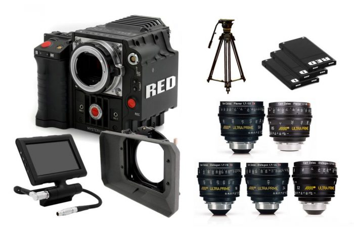 COMBO 14 – RED EPIC 5K + OPTICA ULTRA PRIME
