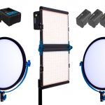 Combo 47 – 3 luces LED bicolor alquiler