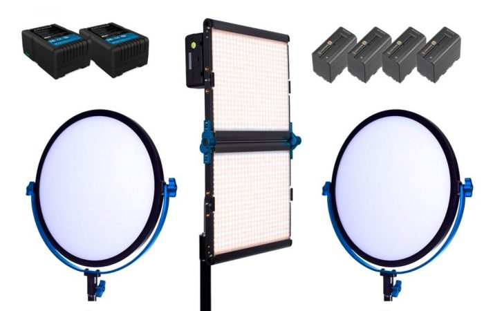 Combo #21B – 3 luces LED bicolor alquiler