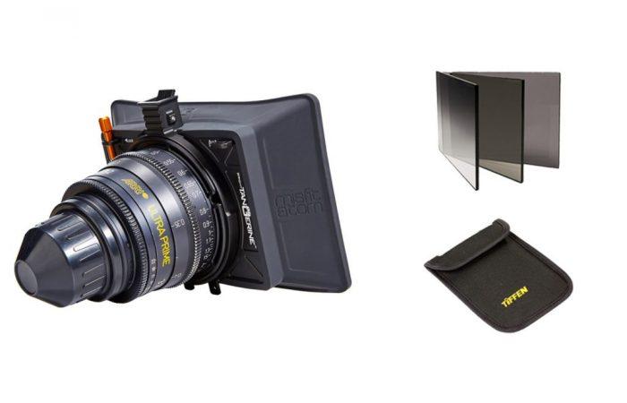 Set Ultra Prime Alquiler + Clip On 95mm + Set de filtros Nd3,6,9 y Pola alquiler