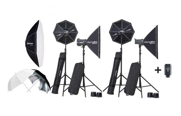 Combo 57 – Flash Elinchrom D-Lite RX 400 x 2 luces + BRX 500 x 2 luces alquiler