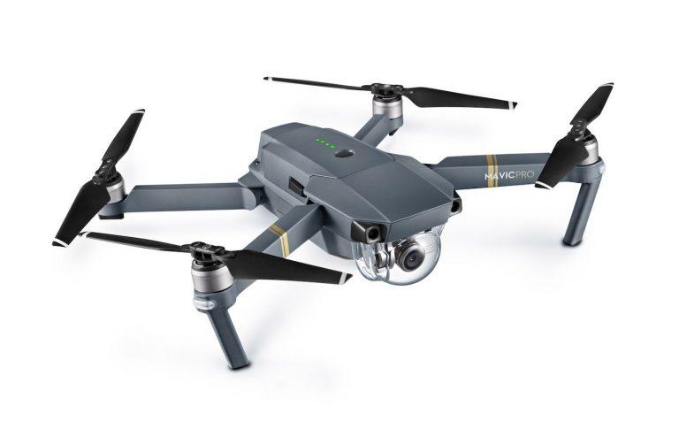 Drone DJI Mavic Pro con operador alquiler