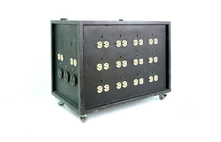 Caja de distribución 720amp pin conector alquiler