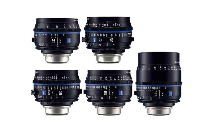 Óptica Carl Zeiss CP3 – 5 lentes alquiler