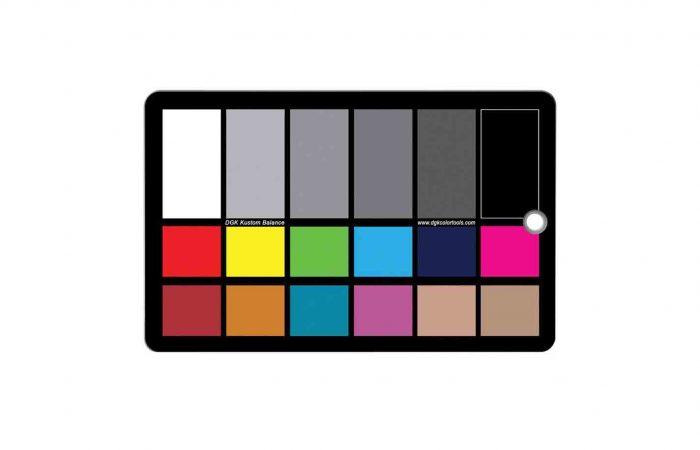 Carta de colores DGK Tools