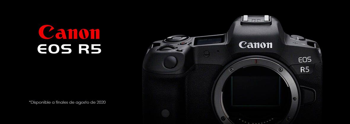 Alquiler Canon EOS R5