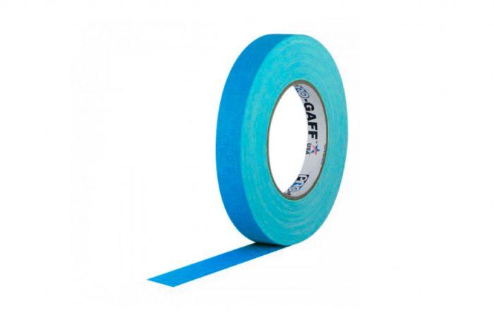 Cinta gaffer ProGaff Azul 1/2 pulgada 55 yardas