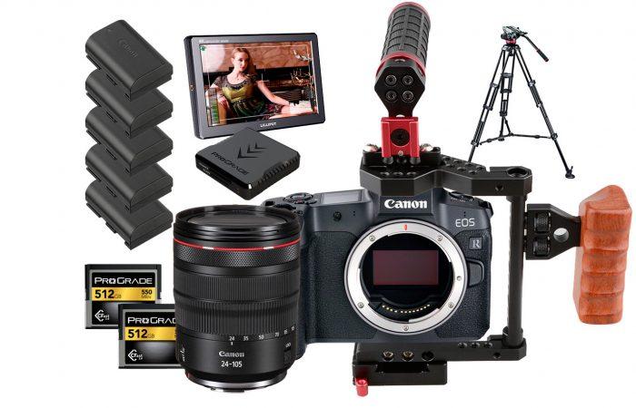 Cámara Canon EOS R5 + Lente 24-105 RF alquiler