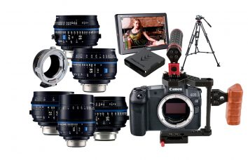 Combo C28 - Canon R5 + Carl Zeiss CP3 PL alquiler