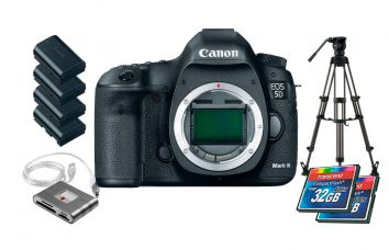 Cámara Canon EOS 5D Mark III alquiler