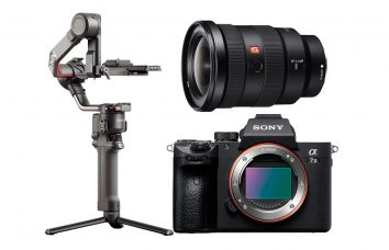 Combo E05 - SONY A7III + Ronin RS2 + 16-35 Alquiler