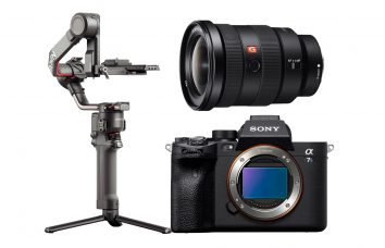 Combo E04 - SONY A7SIII + Ronin RS2 + 16-35 Alquiler
