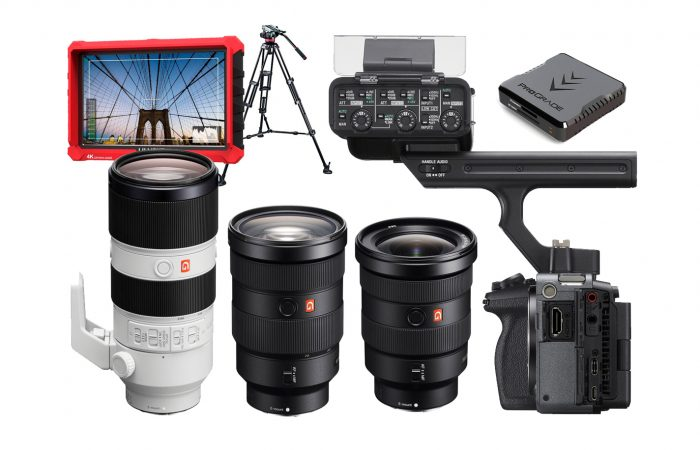 Combo C10 – Sony FX3 + Kit 3 lentes Sony Alquiler